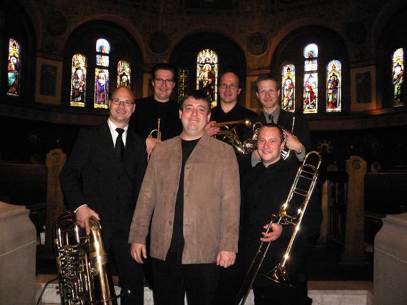 With Stockholm Chamber Brass in Toronto 2006